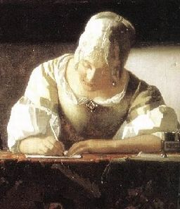 Jan Vermeer, Lady Writing a Letter